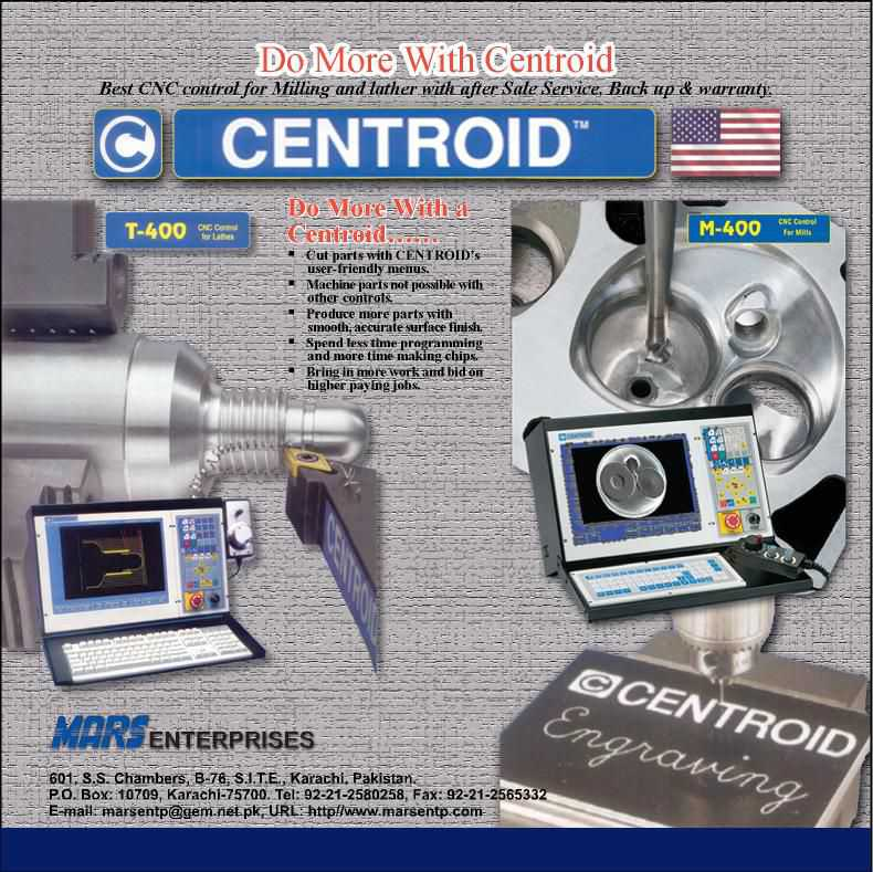 CNC Machine Retrofit with Centroid Control & Sale New CNC