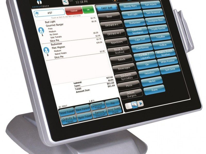 iTech POS Software and Hardware, Thermal Printer, Bar Code