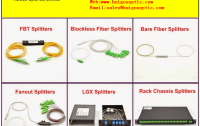 Manufacturer of fiber optic components SFP CWDM optical transceivers isolator coupler splitter