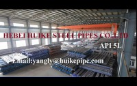 Hebei Huike Steel Pipes Co.,Ltd Maufacture of ASTM A106GrB seamless pipes