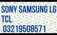 SONY SAMSUNG LG Changhong Ruba  LED TV Repair Shop