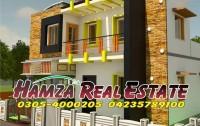 Hamza Real Estate 123 Bawa Park Upper Mall international hotel Lahore