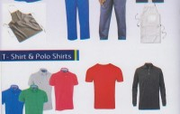 Work Wear, Uniforms, Cover all, High Quality 100% Cotton & Poly Cotton Printed / Dyed Fabrics ,  Made-ups Garments up to T-500 including Bed Sets, Duvet Sets, & Table Covers, Mattress Protector, Sofa Covers,  Individual packed Flat, Fitted, Fitted Valance
